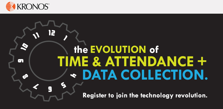 evoluation of time and attendance and data collection