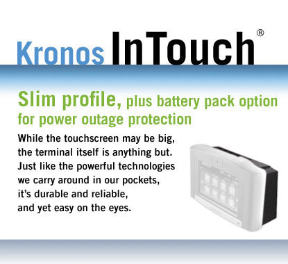 Slim profile, plus battery pack option for power outage protection