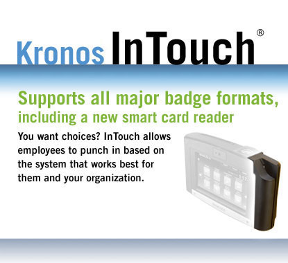 Supports all major badge formats, including a new smart card reader
