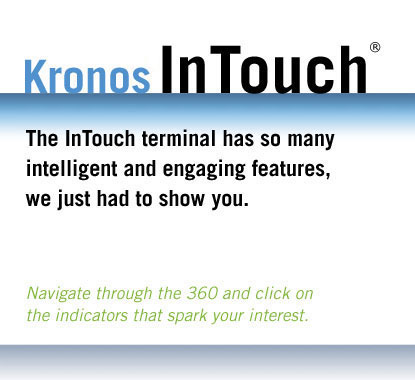 The InTouch terminal has so many intelligent and engaging features, we just had to show you.