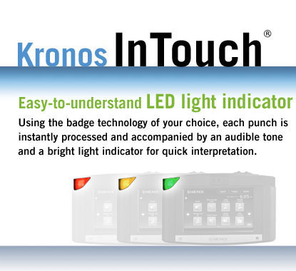 Easy-to-understand LED light indicator