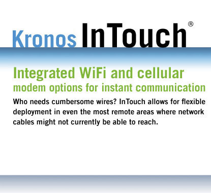 Integrated WiFi and cellular modem options for instant communication