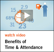 Watch Video - Benefits of Time & Attendance