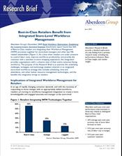 Best-in-Class Retailers Benefit from Integrated Store-Level Workforce Management