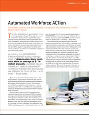 Automated Workforce ACTion