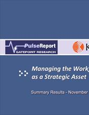 Managing the Workforce as a Strategic Asset