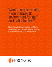 Want to create a safer, more therapeutic environment for staff and patients alike?