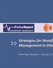 Pulse Report: Strategies for Workforce Management in Dining