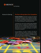 Kronos® for Gaming Solutions Guide