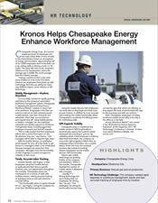 Kronos Helps Chesapeake Energy Enhance [Mobile] Workforce Management