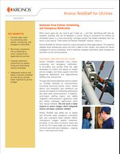 Kronos TeleStaff for Utilities Datasheet