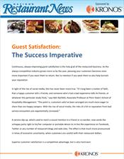 Guest Satisfaction: The Success Imperative