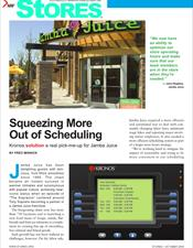 NRF Stores Magazine reprint - Squeezing More Out of Scheduling