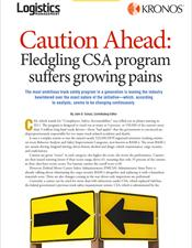 Caution Ahead: Fledgling CSA program suffers growing pains