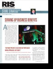 Starbucks - Serving Up Business Benefits (RIS article)