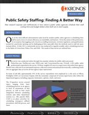 Public Safety Staffing: Finding a Better Way