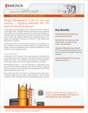 Fatigue Management in the Oil and Gas Industry