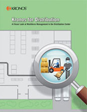 Kronos for Distribution: At Work in the DC