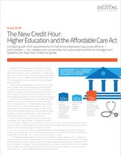 The New Credit Hour: Higher Education and the Affordable Care Act