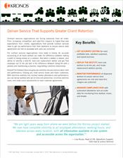 Kronos for Contract Services Industry Brief