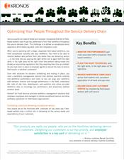 Kronos for Field Services Industry Brief