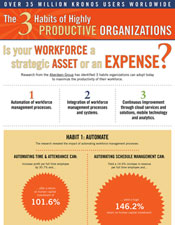3 Habits of Highly Productive Organizations Infographic