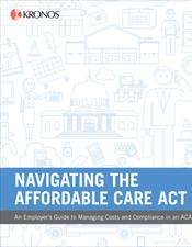 Navigating the Affordable Care Act ebook