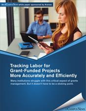 Tracking Labor for Grant-Funded Projects More Accurately and Efficiently