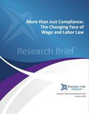 More than Just Compliance: The Changing Face of Wage and Hour Law