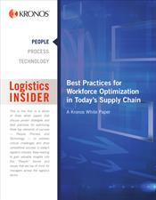 Best Practices for Workforce Optimization in Today's Supply Chain