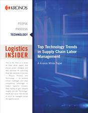 Top Technology Trends in Supply Chain Labor Management