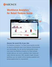 Workforce Analytics for Retail Feature Guide