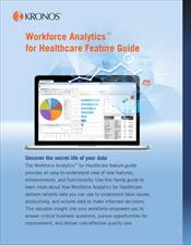 Healthcare Analytics Feature Guide