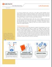 Kronos® for Manufacturing - Life Sciences Data Sheet