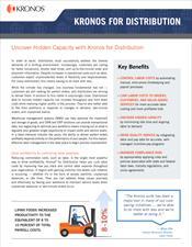 Kronos for Distribution Industry Brief