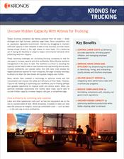 Kronos for Trucking Industry Brief